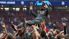 Fussball / firo Tottenham - FC Liverpool 01.06.19