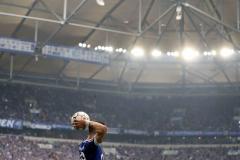 Fussball / firo Schalke - Frankfurt