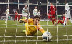 Fussball / firo Gladbach - FC Bayern 07.12.19