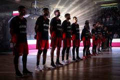 Fussball / firo Basketball Deutschland - Polen, 18.08.2019