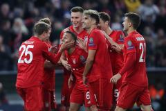 Fussball / firo FC Bayern München - Roter Stern Belgrad 18.09.2019