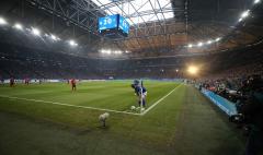 Fussball / firo Schalke - Freiburg 21.12.2019