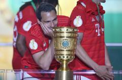 Fussball / firo Pokalfinale Leipzig - Bayern 25.05.2019