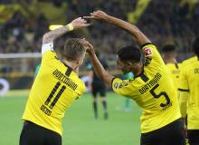 Fussball / firo Schalke - Leipzig