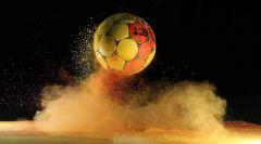 firo :  31.05.2019 2018/2019, HANDBALL ,BALL, FEATURE  , SYMBOLBILD , ALLGEMEIN , HINTERLEGER, HINTERGRUND , FARBPULVER ,  HOLI PULVER , HIGHSPEED   $worldrights,Es gelten  unsere AGB, einsehbar auf www.firosportphoto.de, copyright by firo sportphoto: Coesfelder Str. 207 D-48249 Dülmen mail@firosportphoto.de (V o l k s b a n k   B o c h u m - W i t t e n ) BLZ.: 430 601 29 Kt. Nr.: 341 117 100 Tel: +49-2594-9916004 Fax:+49-2594-9916005