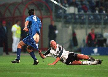 Sportfoto des Jahres 2000 2.Platz Kategorie Fußball - Michael Kleikamp