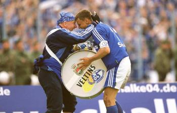1.Platz 40 Jahre Fußball Bundesliga 2002 Kategorie Fanfoto - Ralf Ibing