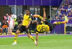 Fussball / firo Austria Wien - Borussia Dortmund 13.07.2018