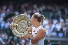 Tennis / firo Wimbledon Kerber - Williams 14.07.2018