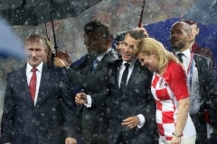 Fussball / firo WM 2018 Finale Frankreich - Kroatien 15.07.2018