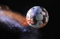 Fussball / firo  Derbystar  Brillant APS Official Spielball